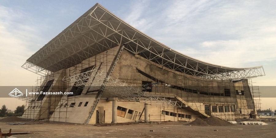 سازه فضایی(سازه فضاکار) فضا سازه - نقش جهاندانشگاه نجف آباد