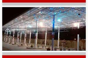 سازه های فضاکار-سقف BRT