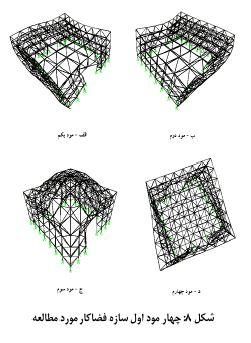 چهار مود سازه فضاکار