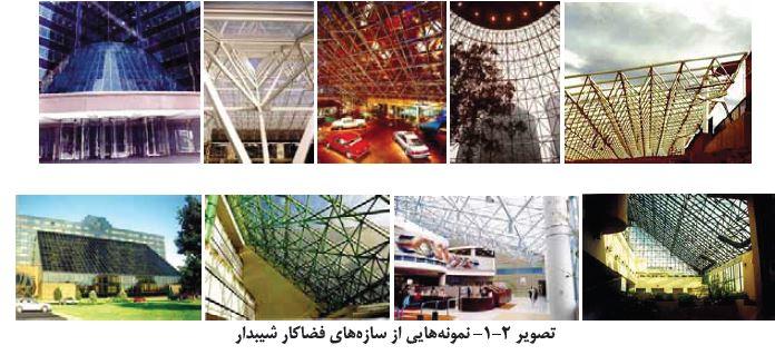 گوناگونی فرم های سازه های فضایی در خلق آثار معماری - سازه فضایی ...سازه فضاکار شیب دار