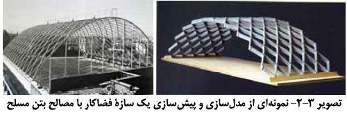 مدل سازی سازه فضاکار