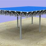 مدلسازی سازه های فضایی