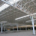 سازه های سقف پیش تنیده و سازه های فضاکار