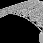 سازه های فضایی چند لایه