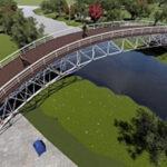 پل های ساخته شده با سازه های فضاکار