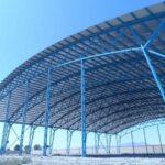 سازه فضاکار فولادی